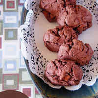 Crispy Cocoa & Chocolate Cookies