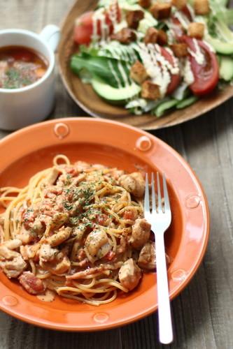 Chicken Tomato Cream Pasta