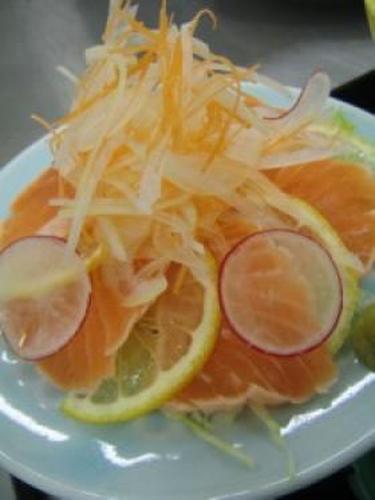 A Taste of Autumn -- Salmon Salad