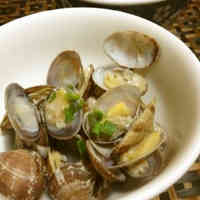 Japanese Littleneck Clams Steamed in Sake