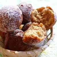 Crisp & Fluffy Brown Sugar & Soy Milk Rice Flour Donut Holes