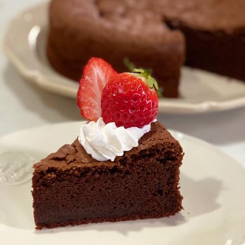 Basic Gateau au Chocolat without Heavy Cream