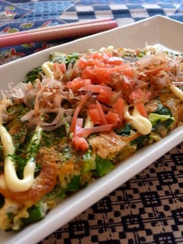 Simple! Green Onion Pancakes (Negiyaki) with Cheese