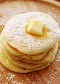 No Baking Powder! A Snack for Babies Rice Flour Pancakes