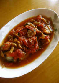 Red Sardines Simmered with Tomatoes
