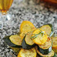 Rosemary-Marinated Zucchini