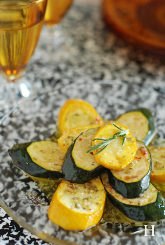 Rosemary-Marinated Zucchini