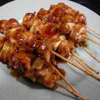 Yakitori made in a Frying Pan