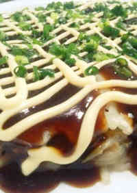 Melting Okonomiyaki with Cabbage