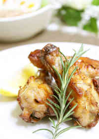 Rosemary Flavoured Roasted Chicken Drumettes