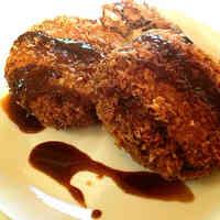 Crunchy Outside, Fluffy Inside Minced Pork Cutlet