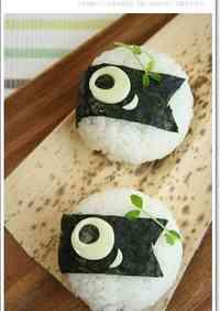 Easy Koinobori Rice Balls for Children's Day