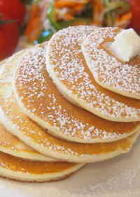 Just Mix! Easy Rice Flour Pancakes