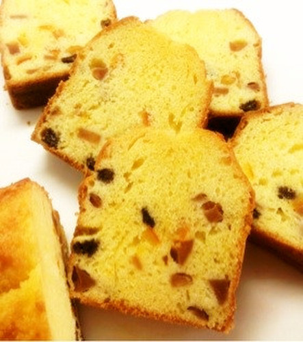 Extravagant Fruit Pound Cake with Brandy