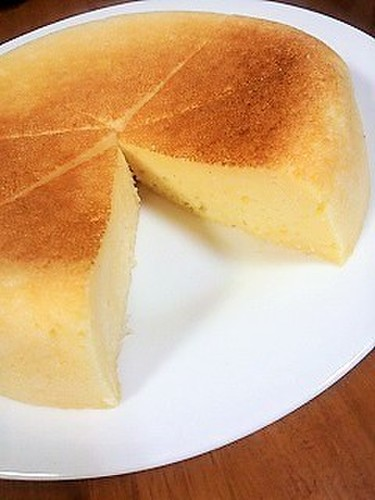 Yogurt cheesecake rice cooker