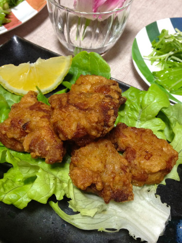Crispy Juicy Chicken Karaage