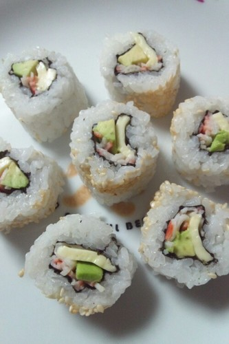 Mini California Roll