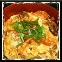 Kimchi and Egg Rice Bowl (and Oyako-don with Tinned Yakitori Chicken)