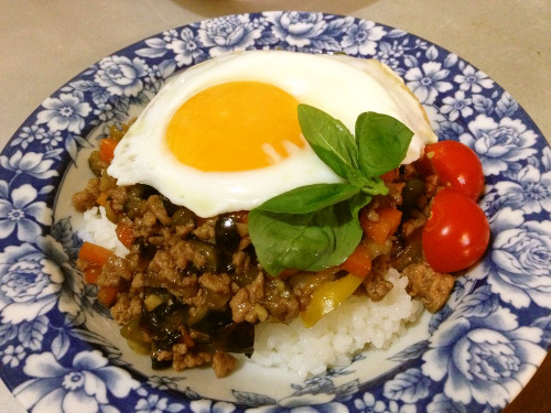 Easy Pad Ga Prao with Vegetables
