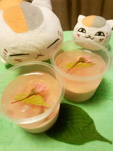 Cherry Blossom & Strawberry Hanami Jello
