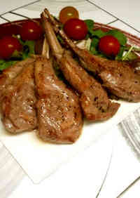 Lamb Chops with Horseradish
