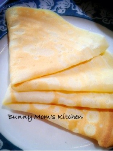 Authentic French Crepe Batter