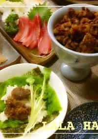 Simmered Beef: Great for Hand Rolled Sushi or Rice Bowls