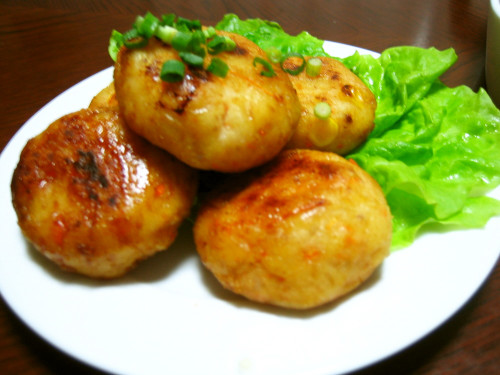 Healthy and Chewy Okara Dumplings
