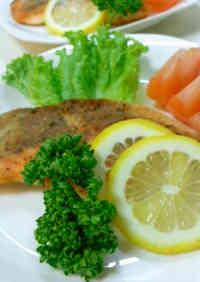 Easy Salmon à la Meunière without Butter