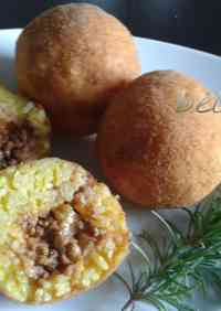 Easy Rice Croquettes (Arancini)