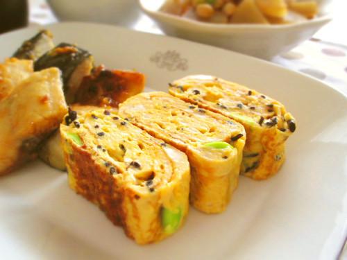 Tofu Hamburgers-like? Tamagoyaki for Bentos