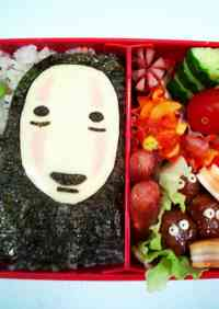 Kaonashi Bento: Spirited Away Movie Character