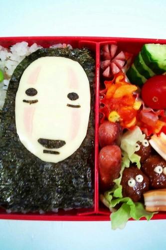 Kaonashi Bento: Spirited Away Movie Character