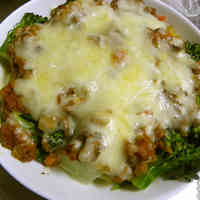 Lasagna-style Layered Broccoli and Potatoes ♪