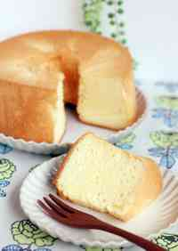 Foolproof Rice Flour and Soy Milk Chiffon Cake