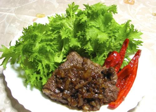 Beef Steak, Chaliapin Style