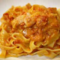 Mascarpone & Tomato Pasta