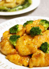 Moist and Tender Stir Fried Chicken Breast With Oyster Sauce and Mayonnaise