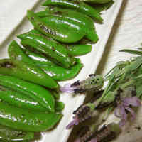 Crunchy and Delicious!  Pan-Fried Sugar Snap Peas