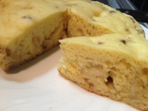 Diet Friendly Steamed Banana Cake Made with Tofu