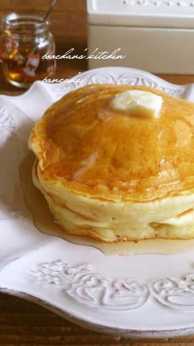 Egg-Free! Fluffy! Tofu Pancakes!