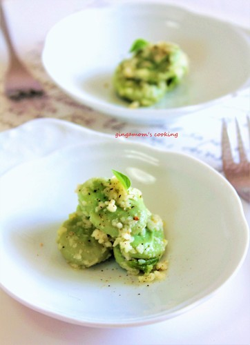 Fava Beans Tossed with Parmigiano Reggiano