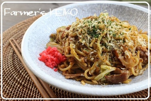 [Farmhouse Recipe] Sauce Yakisoba