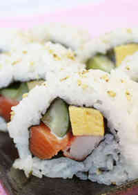 California Roll with Wine Vinegar