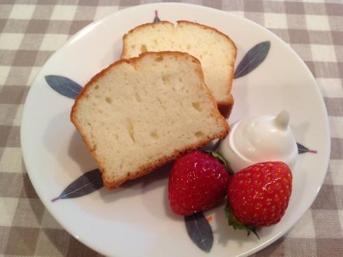 Egg White Pound Cake