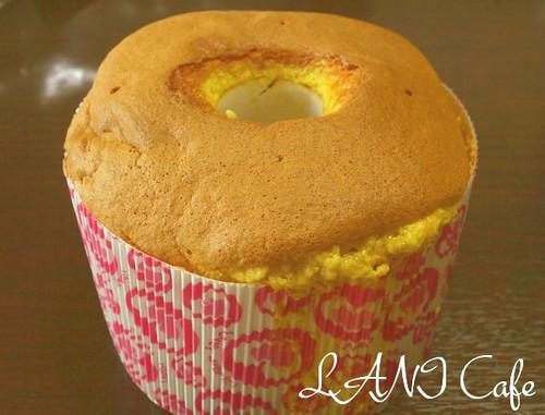 Passionfruit Orange Chiffon Cake