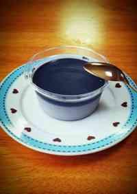 Easy Black Sesame Pudding