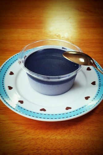 Easy Black Sesame Pudding