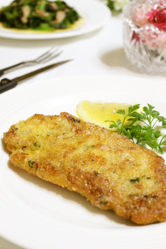 Milanese-style Layered Pork Cutlets