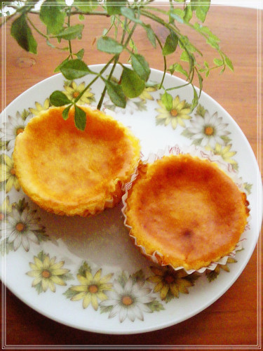 Simple Bite-Sized Baked Cheesecakes